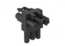 6108084 - OBO BETTERMANN Распределительный блок (черный) (VB-T GST18i3p).