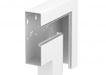 6278030 - OBO BETTERMANN Плоский угол кабельного канала Rapid 80 70x210 мм (сталь,белый) (GS-AFF70210RW).
