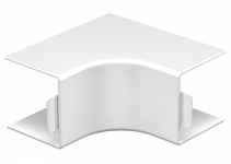 6160301 - OBO BETTERMANN Крышка внутреннего угла кабельного канала WDK 60x60 мм (ПВХ,кремовый) (WDK HI60060CW).