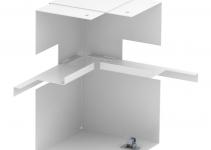 6278140 - OBO BETTERMANN Внутренний угол кабельного канала Rapid 80 нерегулируемый 90x210 мм (сталь,белый) (GS-AI90210RW).