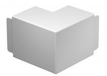 6192424 - OBO BETTERMANN Крышка внешнего угла кабельного канала WDK 100x130 мм (ПВХ,белый) (WDK HA100130RW).