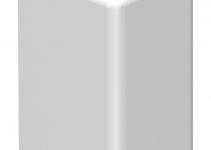 6153593 - OBO BETTERMANN Торцевая заглушка кабельного канала WDK 10x20 мм (ПВХ,кремовый) (WDK HE10020CW).