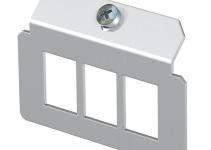 7407820 - OBO BETTERMANN Суппорт для установки модулей в монтажную рамку MTU тип A (сталь) (MTM 3A).