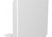 6193021 - OBO BETTERMANN Крышка плоского угла кабельного канала WDK 80x170 мм (ПВХ,белый) (WDK HF80170RW).