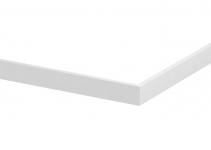 6279890 - OBO BETTERMANN Крышка внешнего угла двойного кабельного канала Rapid 80 45x12x300 мм (сталь,белый) (GS-OT50ARW).