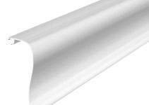 6115825 - OBO BETTERMANN Крышка дизайнерского канала типа Swing (алюминий) (OT GAD Swing EL).
