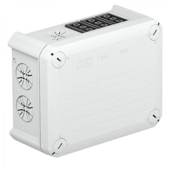 2007822 - OBO BETTERMANN Распределительная коробка 150x116x67 (T 100 WB 6S3).