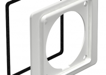 6024025 - OBO BETTERMANN Фланец для розетки СЕЕ 16А (ПВХ,серый) (2393 16).