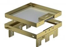 7409232 - OBO BETTERMANN Кассетная рамка RKSN2 UZD3 ном.размер 9 243x243 мм (латунь) (RKSN2 UZD3 9MS20).