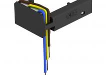 6107801 - OBO BETTERMANN Модуль защиты от перенапряжения для модульных рамок MT (ÜSM-A-4T).