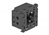 6288569 - OBO BETTERMANN Монтажная коробка одинарная Modul45 71GD8-2 (полиамид,серый) (71GD8-2).