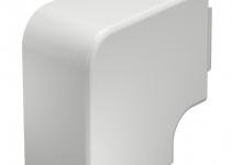 6161510 - OBO BETTERMANN Крышка плоского угла кабельного канала WDK 60x90 мм (ПВХ,кремовый) (WDK HF60090CW).