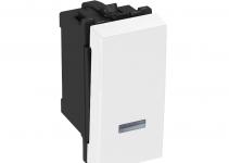 6117624 - OBO BETTERMANN Выключатель 16 А, 250 В (белый) (AS-K RW0.5).