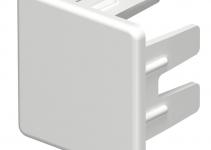 6183662 - OBO BETTERMANN Торцевая заглушка кабельного канала WDK 25x25 мм (ПВХ,светло-серый) (WDK HE25025LGR).