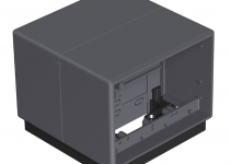 7408288 - OBO BETTERMANN Напольный бокс Telitank 118x118x97 мм (полиамид,серый) (T4B 00C 7011).