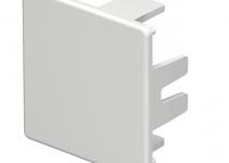 6193218 - OBO BETTERMANN Торцевая заглушка кабельного канала WDK 40x40 мм (ПВХ,белый) (WDK HE40040RW).