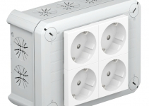 2007825 - OBO BETTERMANN Распределительная коробка 150x116x67 (T 100 4MSD WS).