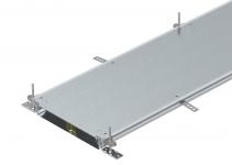 7424486 - OBO BETTERMANN Секция кабельного канала OKA-W глухая с фиксаторами, 2400x500x60 мм (сталь) (OKA-W5006050R).