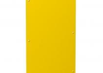 6109868 - OBO BETTERMANN Заглушка для блока питания VHF 160x105 мм (ПВХ,желтый) (VHF-P1).