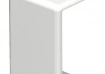 6154026 - OBO BETTERMANN Стыковая накладка кабельного канала WDK 10x20 мм (ПВХ,белый) (WDK HS10020RW).