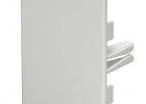 6183816 - OBO BETTERMANN Торцевая заглушка кабельного канала WDK 60x90 мм (ПВХ,светло-серый) (WDK HE60090LGR).