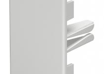 6162614 - OBO BETTERMANN Торцевая заглушка кабельного канала WDK 40x90 мм (ПВХ,кремовый) (WDK HE40090CW).