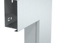 6249507 - OBO BETTERMANN Плоский угол с крышкой кабельного канала LKM 60x100 мм (сталь,белый) (LKM F60100RW).