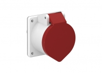 6109876 - OBO BETTERMANN Силовой разъем CEE32А для блока питания VH, 75x75x72 мм (CEE-32A).