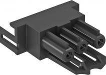 6117190 - OBO BETTERMANN Штекерный адаптер прямой (черный) (BTA-SKS S1 SW).
