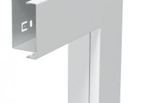 6249000 - OBO BETTERMANN Плоский угол с крышкой кабельного канала LKM 40x60 мм (сталь,белый) (LKM F40060RW).