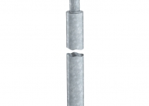 5000769 - OBO BETTERMANN Стержень заземления 1,5 м (219 25 ST FT).