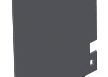 7408490 - OBO BETTERMANN Перегородка для напольного бокса Telitank (ПВХ,черный) (T8NL TQ).
