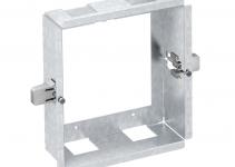 6109950 - OBO BETTERMANN Корпус для установки в стену Modalnet 2x2 (сталь) (WG-UK2).