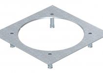 7400487 - OBO BETTERMANN Крышка усиленная монтажного основания UZD350-3R9 (h=70-105 мм,сталь) (DUG 350-3R9SL70).