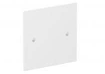 6109843 - OBO BETTERMANN Накладка блока питания VH для монтажа устройств, 95x95 мм (белый) (VH-P1 RW).
