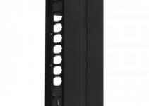 HDWM-VMF-45-25/20F - Вертикальный кабельный организатор (монтаж на открытую стойку) со съемной крышкой (крышка разделена на 3 части), 44