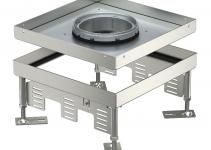 7409368 - OBO BETTERMANN Кассетная рамка RKFN2 ном.размер 9 243x243 мм (сталь) (RKFN2 9 VS 20).