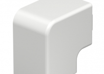 6158668 - OBO BETTERMANN Крышка плоского угла кабельного канала WDK 40x40 мм (ПВХ,серый) (WDK HF40040GR).
