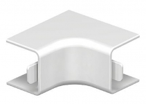 6158226 - OBO BETTERMANN Крышка внутреннего угла кабельного канала WDK 20x20 мм (ПВХ,серый) (WDK HI20020GR).