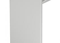 6183859 - OBO BETTERMANN Торцевая заглушка кабельного канала WDK 60x170 мм (ПВХ,светло-серый) (WDK HE60170LGR).