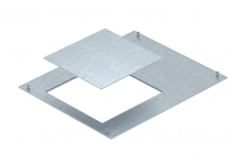 7425104 - OBO BETTERMANN Крышка канала OKA с монтажным отверстием GES9 400x600x4 мм (сталь) (OKA D 600 9).