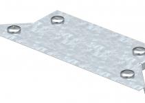7131305 - OBO BETTERMANN Крышка T-образного соединения 100мм (DFAA 100 DD).