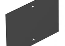 7408228 - OBO BETTERMANN Крышка глухая для напольного бокса Telitank 110x77 мм (ПВХ,черный) (T4B P0S2 9011).