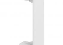 6116152 - OBO BETTERMANN Накладка на стык крышек Rapid 45 (ПВХ,белый) (GEK-KSOT45).