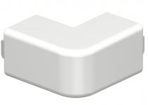 6160603 - OBO BETTERMANN Крышка внешнего угла кабельного канала WDK 20x20 мм (ПВХ,кремовый) (WDK HA20020CW).