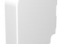 6022391 - OBO BETTERMANN Крышка плоского угла кабельного канала WDK 60x210 мм (ПВХ,серый) (WDK HF60210GR).