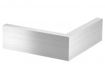 6115865 - OBO BETTERMANN Крышка внешнего угла дизайнерского канала типа Style (алюминий) (OT A Style EL).