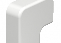 6161219 - OBO BETTERMANN Крышка плоского угла кабельного канала WDK 15x30 мм (ПВХ,кремовый) (WDK HF15030CW).