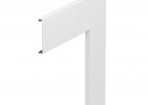 6274490 - OBO BETTERMANN Крышка плоского угла Rapid 80 гладкая (ПВХ,белый) (GK-OTGFRW).