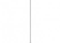 5402880 - OBO BETTERMANN Молниеприемная мачта  8 м (101 3B-8000).